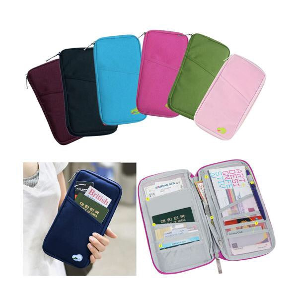 Passport Bag and Travel Document Holder
