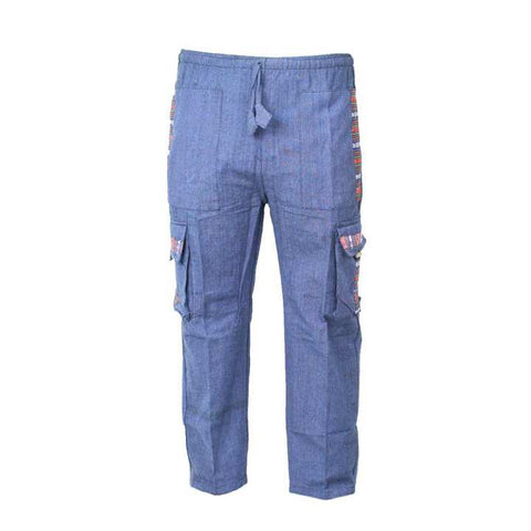 Blue Box Trouser For Men