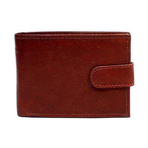 2 Folding Maroon Genuine Leather Wallet For Men