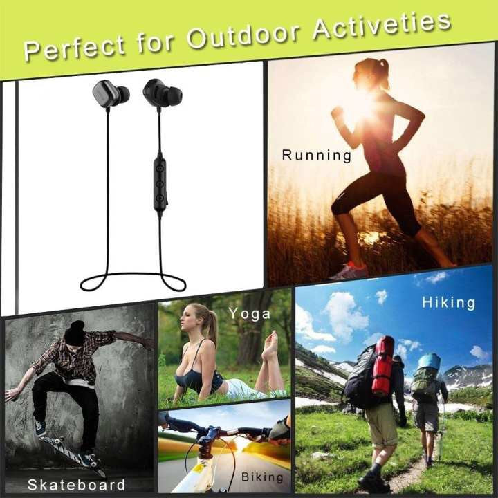 QCY M1Pro Wireless Sports Bluetooth Earphones (Black)