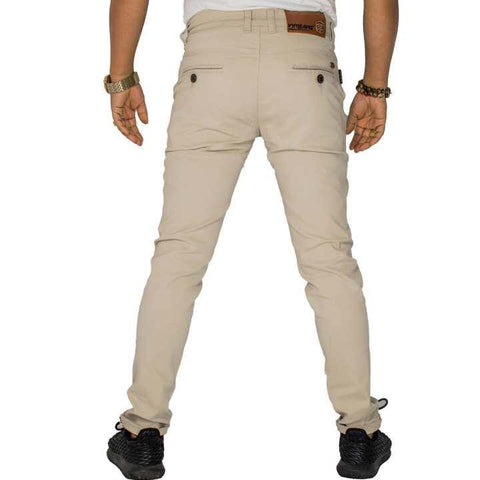 Virjeans Stretchable Twill Cotton Skinny Choose Pants For Men (VJC 674)