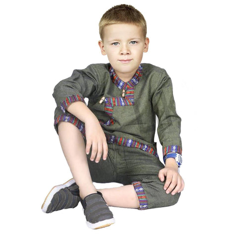 kids kurtha set in nepal