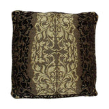 Pack of 5 Golden Floral Pattern Cushion Cover