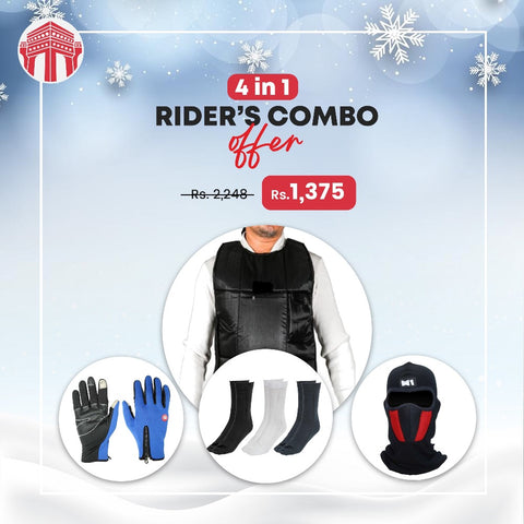 Men Bike Riders Combo In Winter By Ramesh Impex