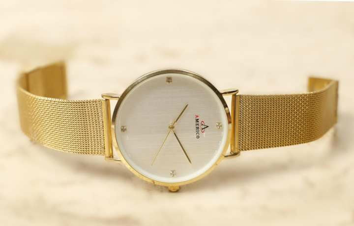 AMERICO Classic Petite Melrose Ladies Watch Gold For woman