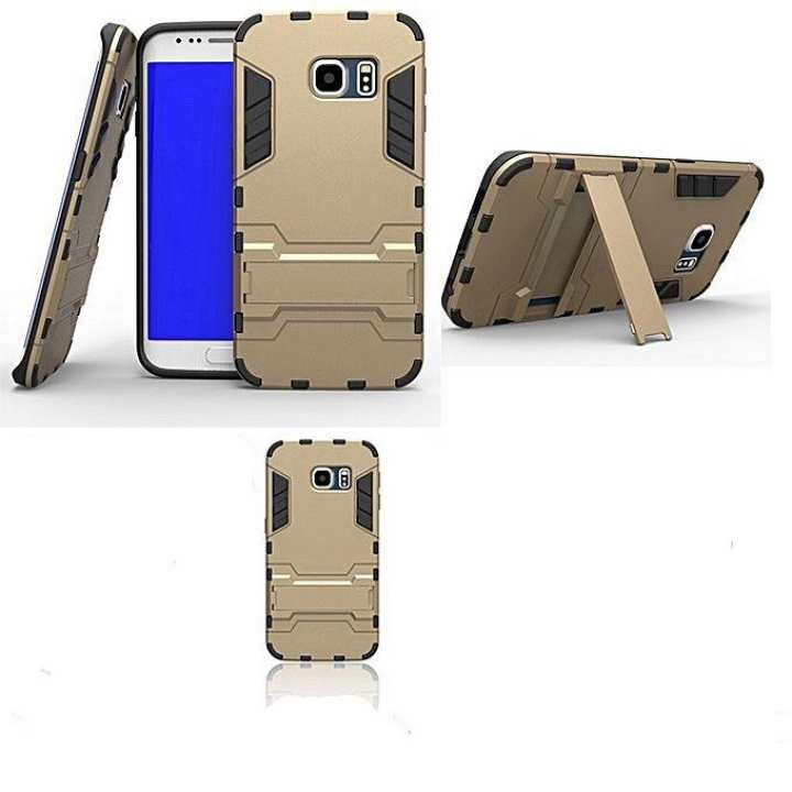 Shockproof Hybrid Stand Cover For Samsung S7