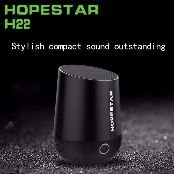 Hopestar H22 Cloth Wireless Network Bluetooth Speaker Portable Mini Bluetooth Headphone TF / USB Support