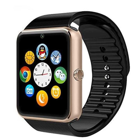 NFC GT08 Bluetooth Smartwatch For Android/iOS-Black