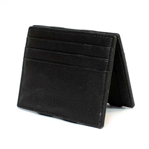 2 Folding Black Unique Magic Wallet For Men