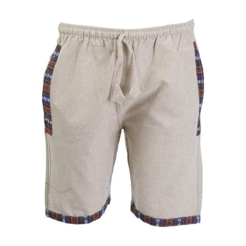 Light Grey Cotton Shorts/ Half Pant For Men