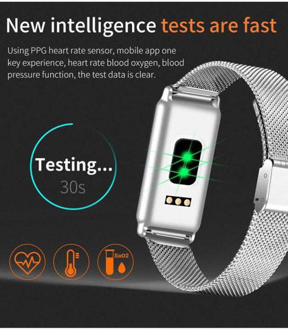 Y8 0.96 Inch Waterproof Smart Band-Black