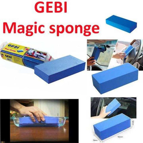 GEBI) PVA Magic Sponge becomes hard when dry & Soft when wet