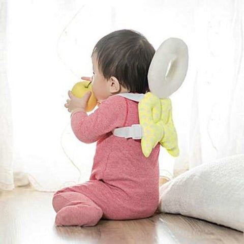 Baby Head Protector Protective Head and Shoulder Safety Cushion Yellow