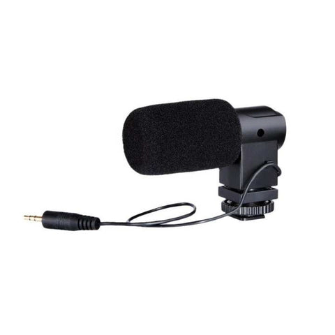 BOYA BY-V01 Mini Stereo X/Y Condenser Microphone Mic For Canon Nikon Sony Pentax DSLR Camera