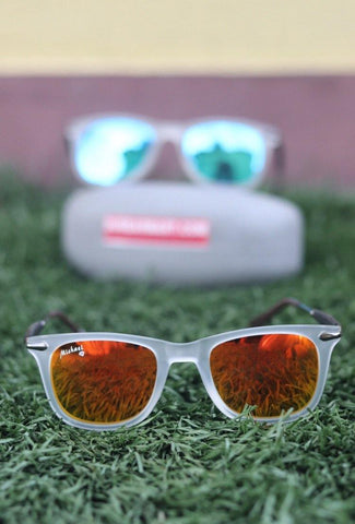 Mercury Orange Polarized  Sunglass- (Unisex)