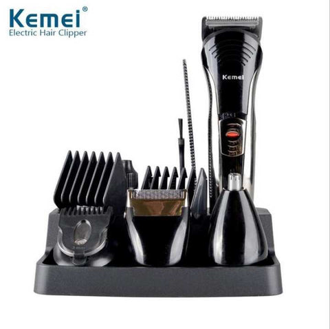 KM-590A 7 in 1 Professional Hair Trimmer Ear Nose Hair Shaver Clipper Trimmer