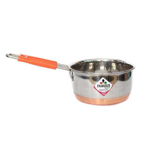 Famous stainless steel sauce pan