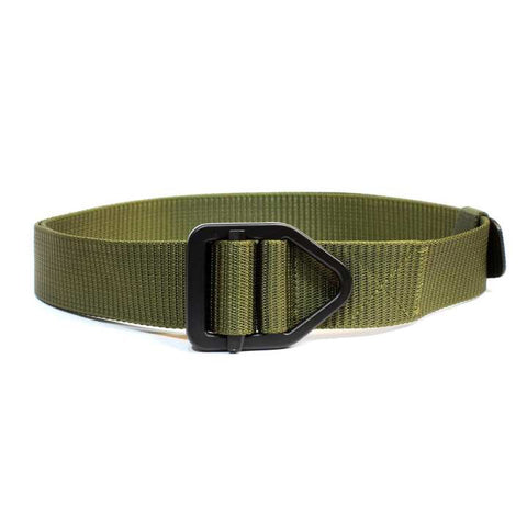 Green Solid Belt For Men
