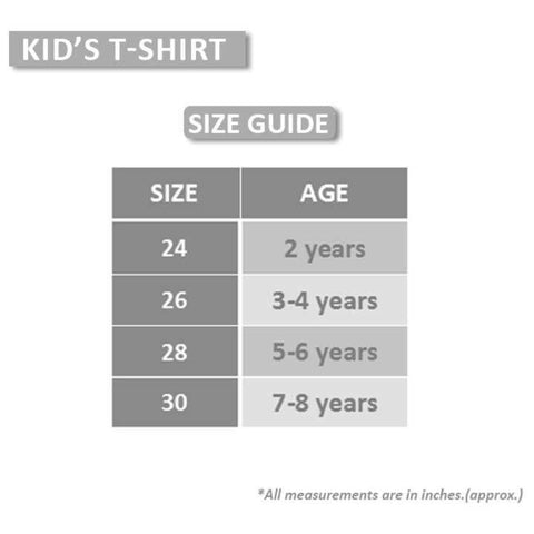 Yellow Plain Tshirt For Boys
