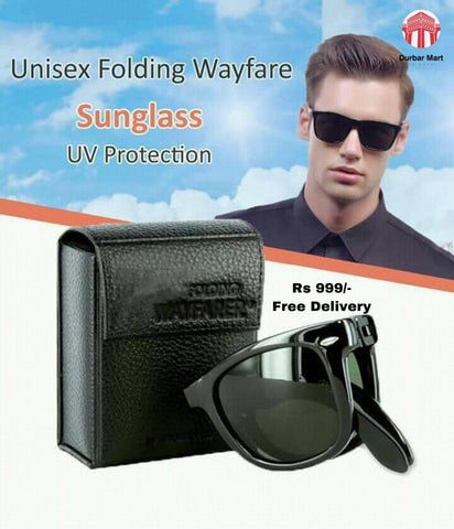 Unisex Foldable Sunglasses