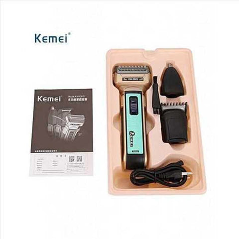 Kemei KM-601 3 in 1 Electric Hair Shaver & Trimmer