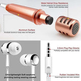 Mini Mike - Karaoke Microphone, Stereo Mic With Earphone For Voice Recording