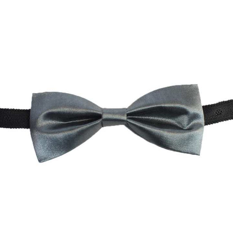 Mixed Fabric Solid Bow Tie For Men