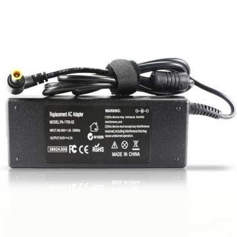 Laptop/Notebook AC Adapter/Charger 90W 19.5V 4.7A For Sony (Yellow Tip 6.5mm x 4.4mm Connector With Pin)
