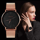 Geneva Ultra-thin Rose Gold Luxury New Fashion Watches