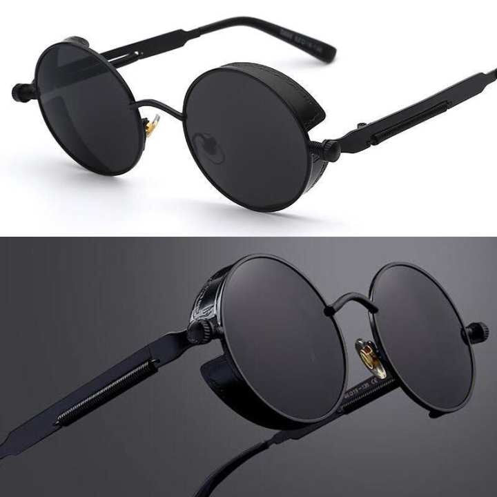Full Matte Black Polarized Square Sunglass- (Unisex)