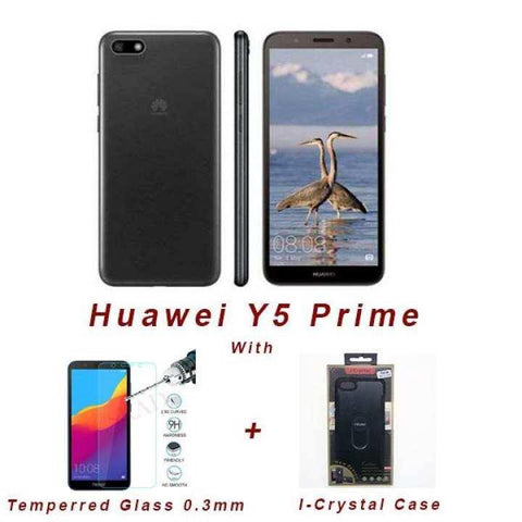 Huawei Y5 Prime (2018) [RAM-2GB ROM-16GB, CAMERA 13MP(R)+ 5MP(F)]