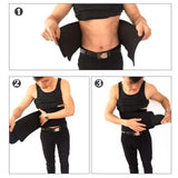 NayaaNaulo Sweat Premium Waist Trimmer Body Slimming Belt For Men & Women (Free Size)