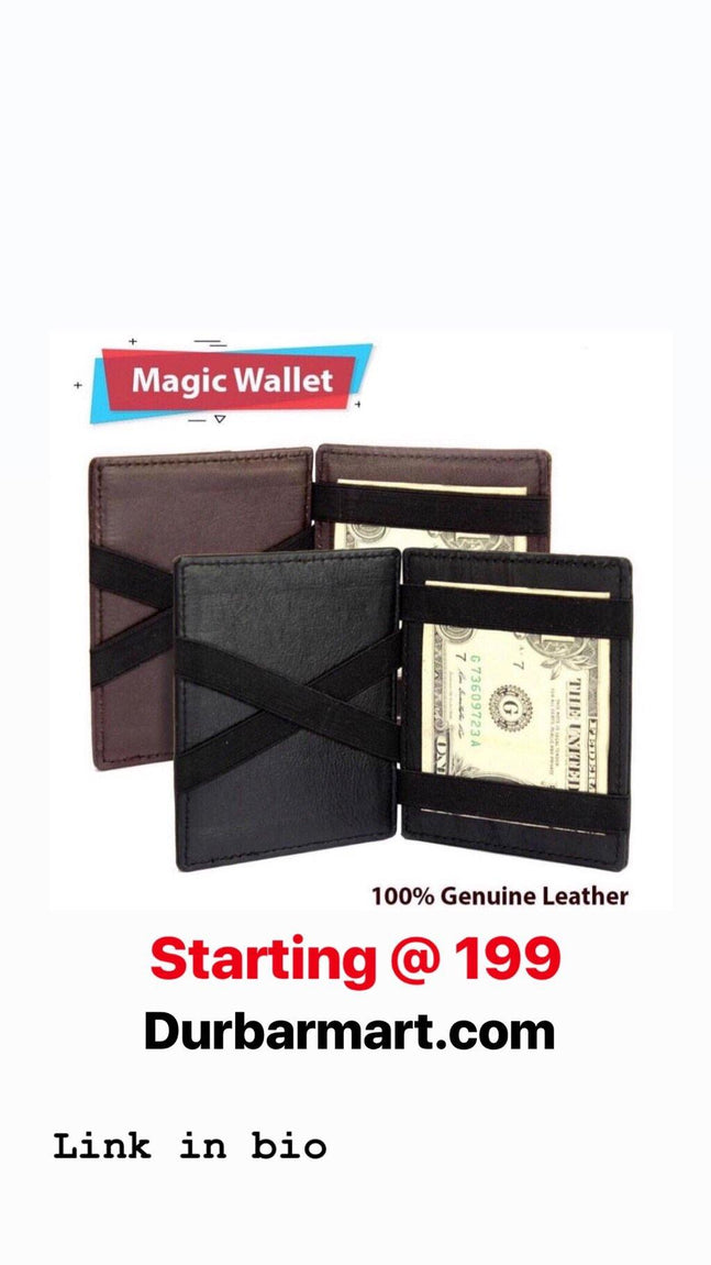 Magic Leather Wallet For Men