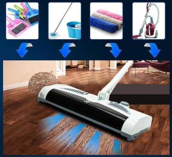 2 in 1 Electric Mop & Sweeper Cleaner