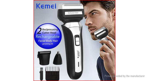 Kemei KM-6550 3 In 1 Nose Beard Hair Clipper Professional Hair Dryer Safe Face Hair Care Cutting Hair Cutting Machine
