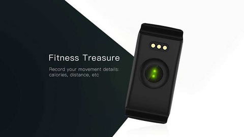 IP67 Fitness Tracker Watch, F1 Smart Bracelet Bluetooth 4.0 Heart Rate Monitor & Waterproof Sleep Tracker
