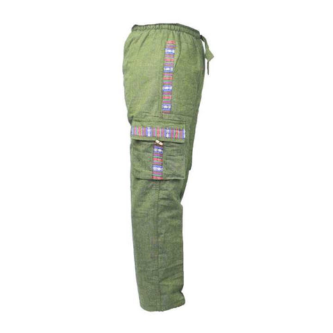 Green Box Trouser For Men