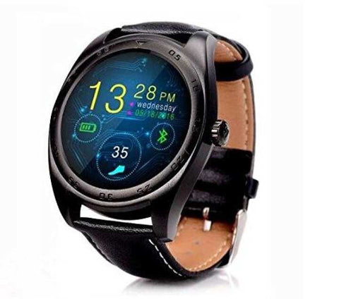K89 Round Screen Smartwatch Bluetooth Wrist Watch
