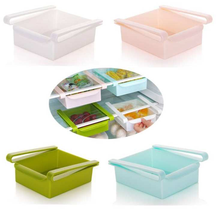 Refrigerator Storage Box- 1 pcs (Color May Vary)