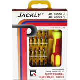 TAG3 High Quality Jackly 32 In 1 Interchangeable Precise Screwdriver Tool Set With Magnetic Holder