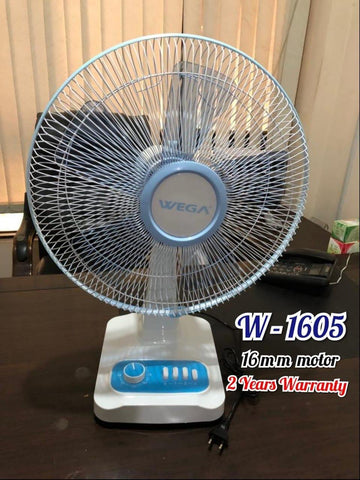 "Wega Table Fan 16"" inch"