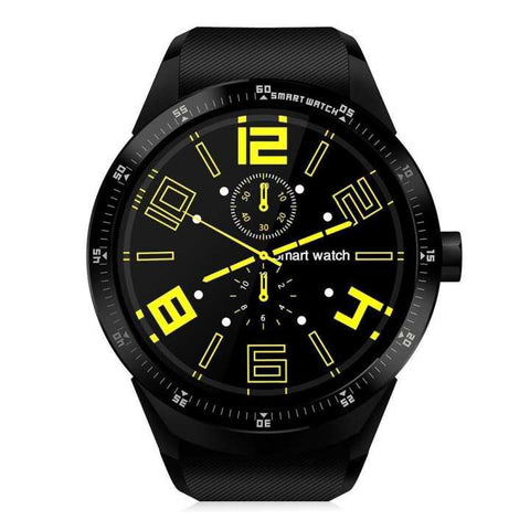 Android 4.4 Dual Core WCDMA 3G Touch Screen GPS Sports Smart Wrist Watch (K98H)
