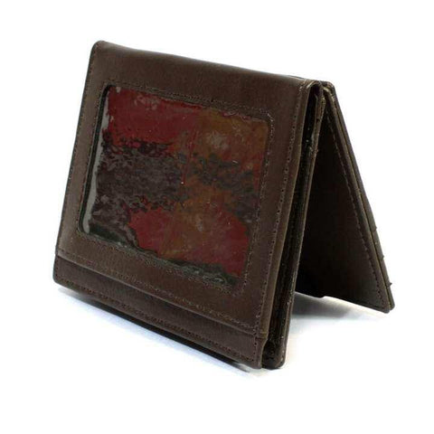 2 Folding Brown Magic Wallet For Men