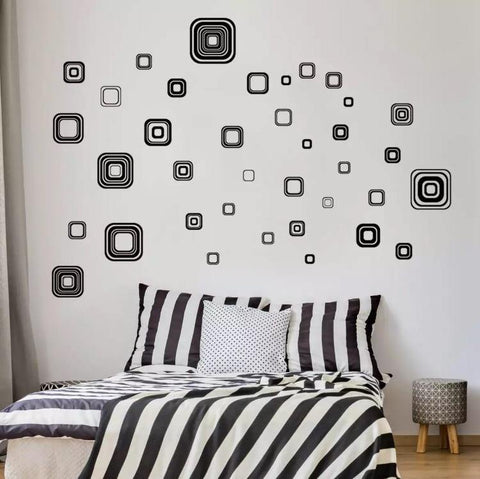 Geometric Decorative Wall Stickers