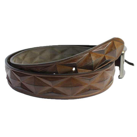3D Designed Genuine Leather Belt For Men