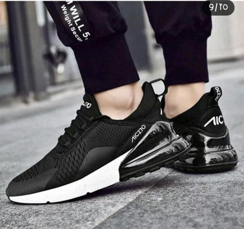 Mens Sports Running Shoes Black