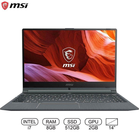 "MSI Modern 14 A10RB i7 10TH GEN/ 8GB RAM/ 512GB SSD/ MX250/ 15.6"" FHD"