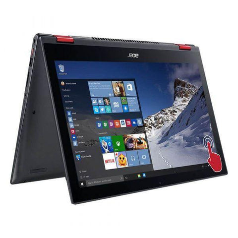 "Acer Nitro Spin 5 i7 8TH GEN/ 16GB RAM/ 1TB HDD/ 256GB SSD/ GTX 1050/ 15.6"" FHD 360 TOUCH"