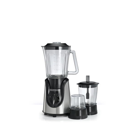 Black+decker 600W Blender With Grinder And Mincer Chopper