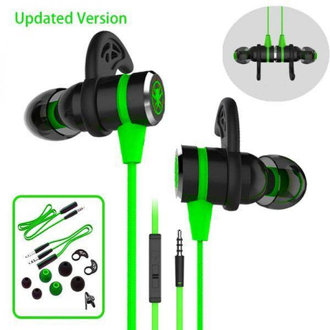 PLEXTONE G20 GAMING IN-EAR HEADPHONES WITH MICROPHONE 86 INCH LONG CORD FOR MOBILE, COMPUTER, LAPTOP, PSP price in Nepal